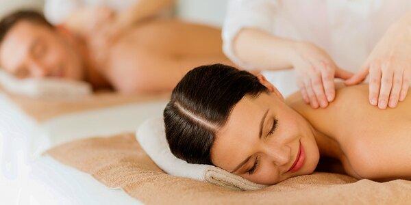 Relaxačná masáž alebo masáže pre páry