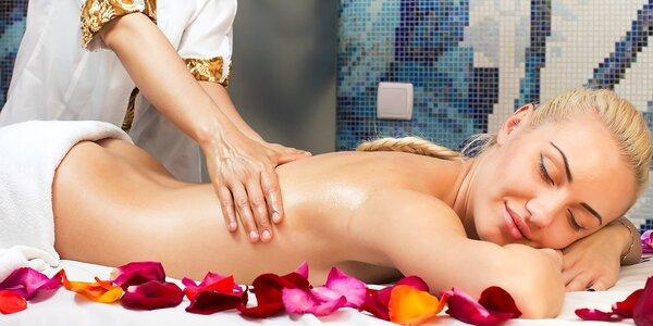 Aromaterapeutická masáž chrbta alebo tváre a antistresové masáže (nielen) pre…