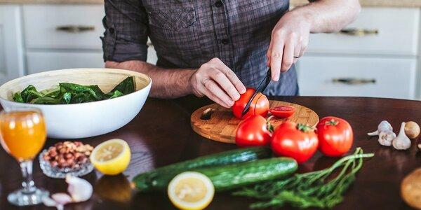 Začnite jesť zdravo! Kurz varenia s nutričným poradcom v centre Bratislavy!