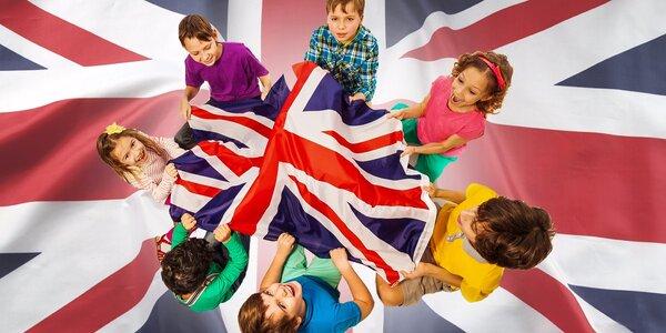 Jednodňový alebo 5-dňový denný anglický tábor pre deti vo veku 3 až 6 rokov