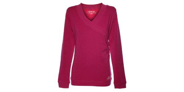 Dámske fuchsiové tričko Alpine Pro
