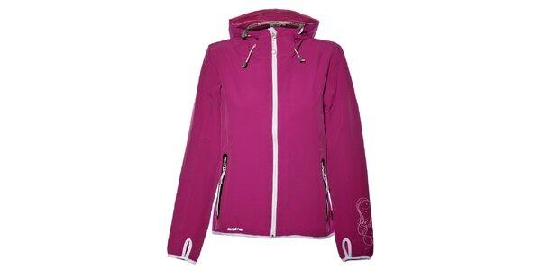 Dámska purpurová softshellová bunda Alpine Pro