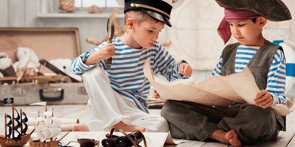Pirátsky tábor na 6 dní v areáli plnom dobrodružstva s výletom na lodi