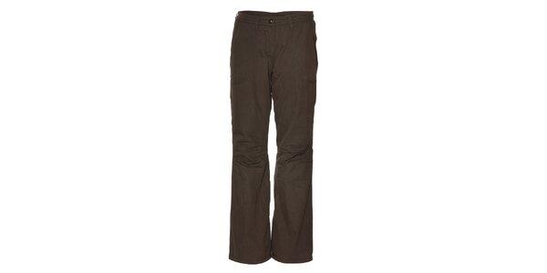 Dámske tmavo šedé zateplené nohavice Alpine Pro