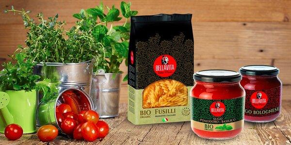 BIO talianske cestoviny a omáčky