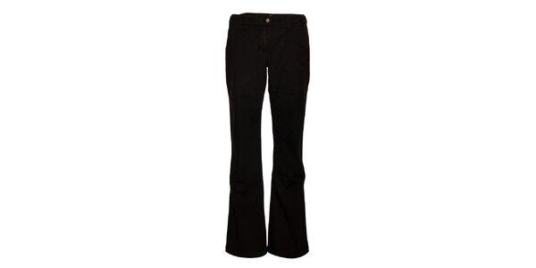 Dámske čierne džínové nohavice Alpine Pro