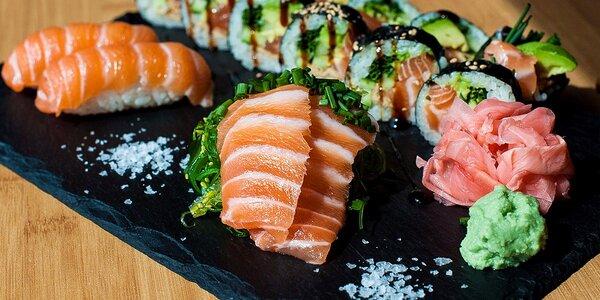 Sake set v EDO–KIN sushi & sake bar