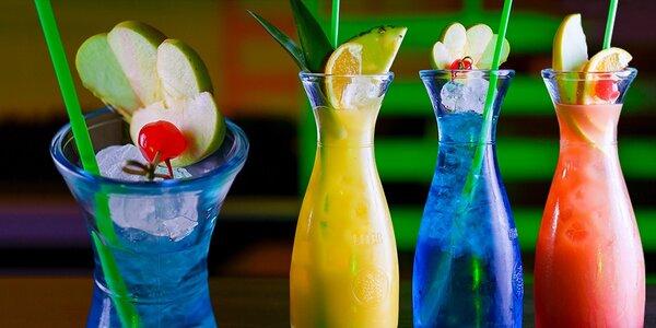 Litrové ALKO a NEALKO drinky, bar Metropol