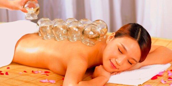 Banková masáž, bankovanie alebo celotelová relaxačná masáž