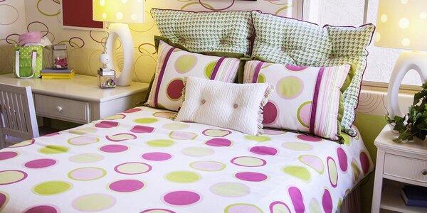Originálne posteľné obliečky s jednostrannou 3D potlačou