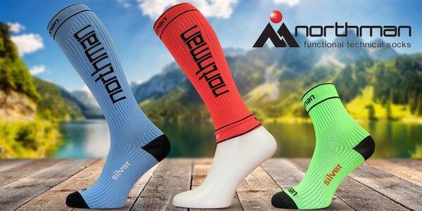 Funkčné kompresné návleky či ponožky českej značky Northman