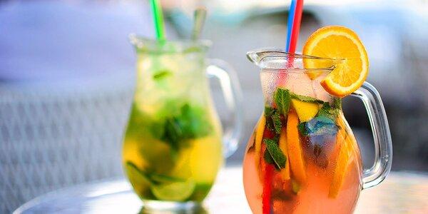 Litrové domáce limonády alebo JUMBO miešané nápoje