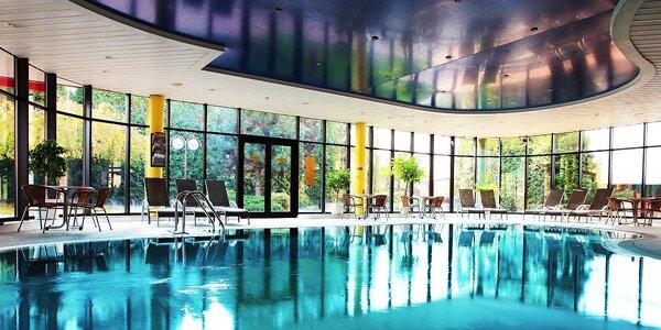 Vstup do wellness centra hotela Holiday Inn