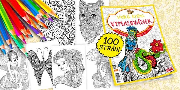 Relaxujte s farbičkami! Letná Veľká kniha maľovaniek