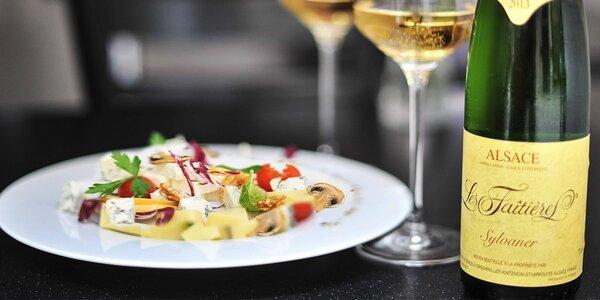 Degustácia vín Moaré a syrový tanier v Gallery bar MOARÉ