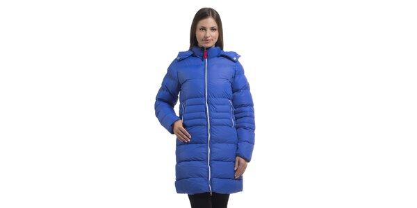Dámska žiarivo modrá páperová bunda Bleifrei