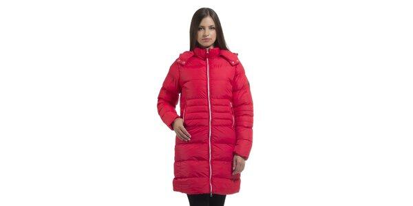 Dámska korálovo ružová páperová bunda Bleifrei