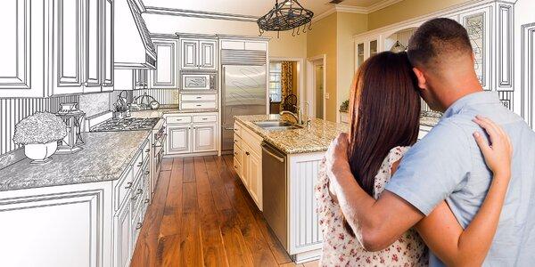 Voucher na zľavu na prerábku bytu, kuchyne alebo kúpeľne