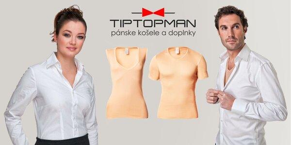 Pánske alebo dámske neviditeľné tričko či tielko