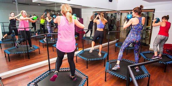 JUMPING tréningy na trampolínach - vyskáčte si novú postavu
