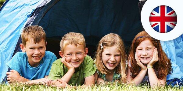 6-dňový detský dramatický tábor s angličtinou