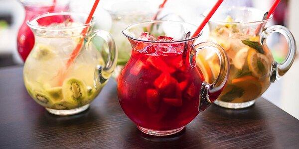 Príjemné letné osvieženie: 1,5 l limonády alebo miešané drinky