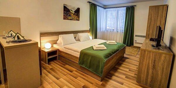 Letná dovolenka v nových, luxusne zariadených apartmánoch v Jasnej pre páry aj…