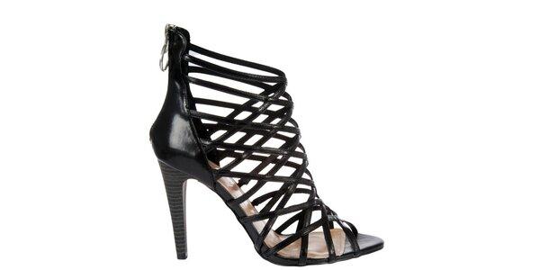 Dámske čierne sandálky Miss Sixty