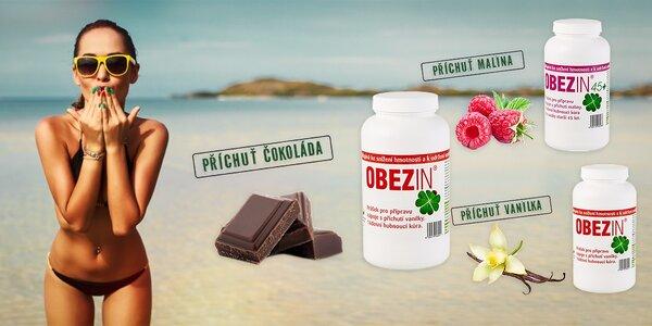 14-denná chudnúca kúra OBEZIN® 45+ alebo OBEZIN® s príchuťami malina, čokoláda…