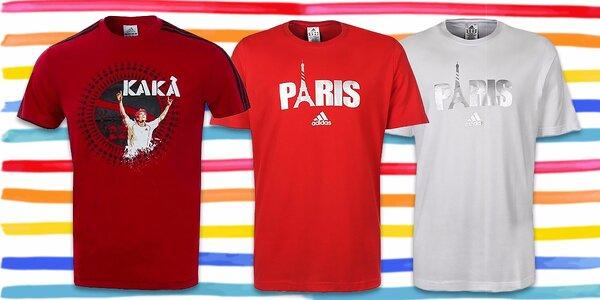 Pánske športovo-elegantné tričká značky Adidas