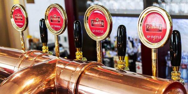 Tri veľké pivá v Zámockom Pivovare. Až do dna!