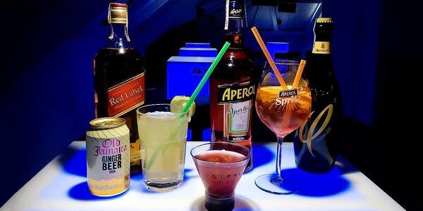 Miešané alkoholické drinky a voucher na konzumáciu v Music Club R2