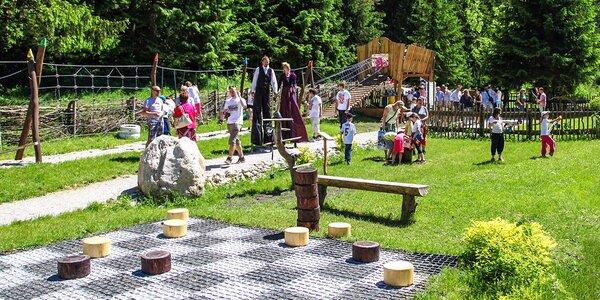 2x 1,5 hodinový vstup do zábavného parku Obrovo Ružomberok