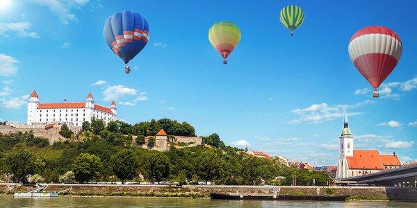 Vzrušujúci let balónom na Kuchajde! Adrenalínový zážitok v Bratislave!