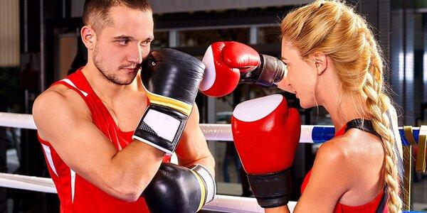Jednorazový vstup na tréning boxu či 12-vstupová permanentka do fight clubu