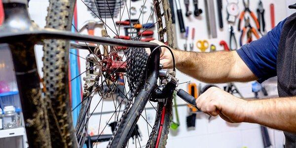 Servis bicyklov, kolieskových korčúľ či kolobežiek