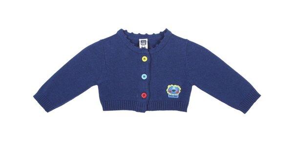 Modrý kojenecký sveterík Tuc Tuc s levíkom