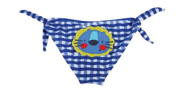 Modré kojenecké plavky Tuc Tuc s levíkom