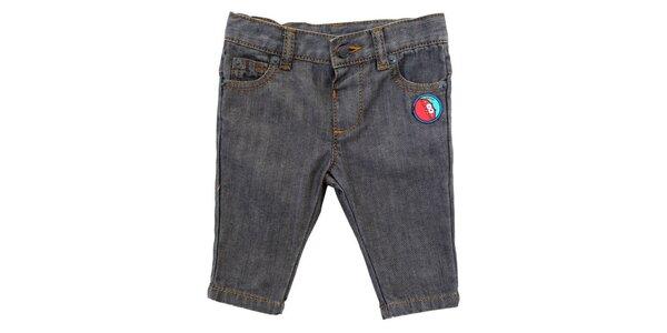 Detské šedé džínsy s nášivkou Tuc Tuc