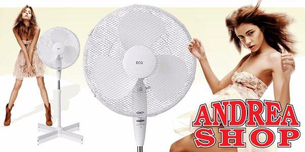 Stojanový ventilátor ECG od Andrea Shopu