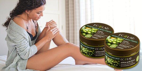 Anticelulitídový telový krém Ecolab - spevnite svoju pokožku!