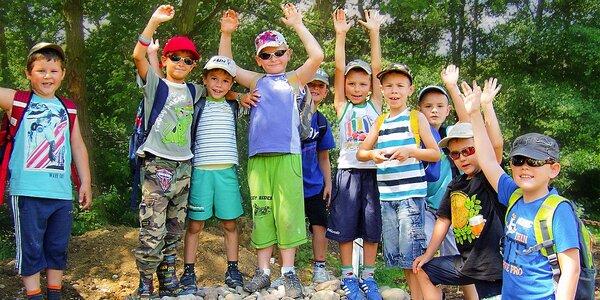 Letný 8-dňový tábor pri vodnej nádrži Duchonka pre deti od 5 do 10 rokov