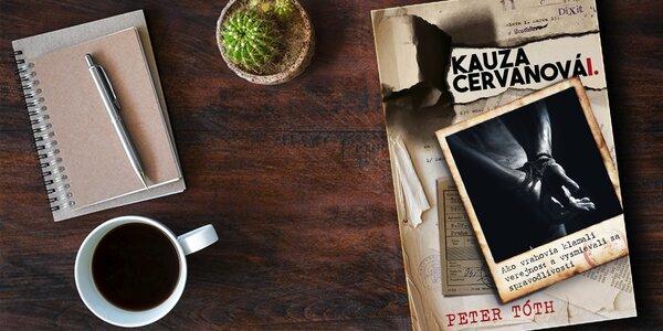 Kniha + DVD Kauza Cervanová. Šokujúce informácie o vražde!