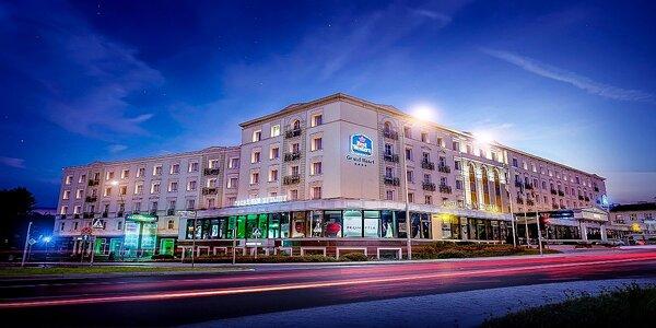 Luxusný pobyt v Grand Hoteli v poľských Kielcach priamo v centre mesta!