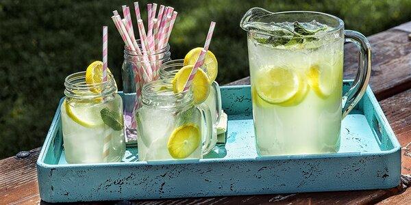 Svieže letné miešané nealko nápoje