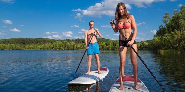 Stand Up Paddle! Prechádzka po hladine na Draždiaku alebo Vajnorskom jazere