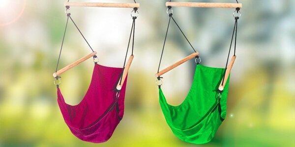 Radosť pre deti i dospelých: Zelené alebo fialové hojdacie lehátko