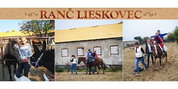 Deti a koníky na ranči a zázračná liečba koňom