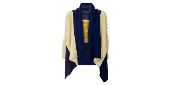 Dámsky modro-biely námornícky sveter Twin - Set