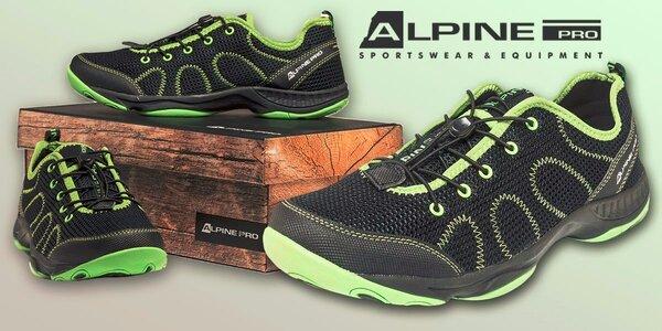 Priedušné pánske topánky Alpine Pro